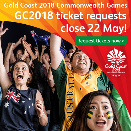 Gold Coast 2018 Tickets